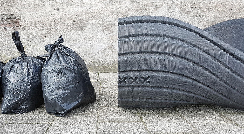 آمستردام زباله های پلاستیکی را به مبلمان شهری چاپ سه بعدی تبدیل می کند